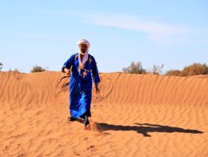Nomade marocain, hiver 2018-19